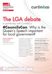 The LGA at the Labour Party Conference 2019 flyer COVER
