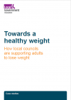 Towards a healthy weight front cover