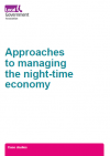 Approaches to managing the night-time economy