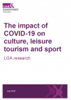 the impact of COVID-19 on culture, leisure tourism and sport LGA research
