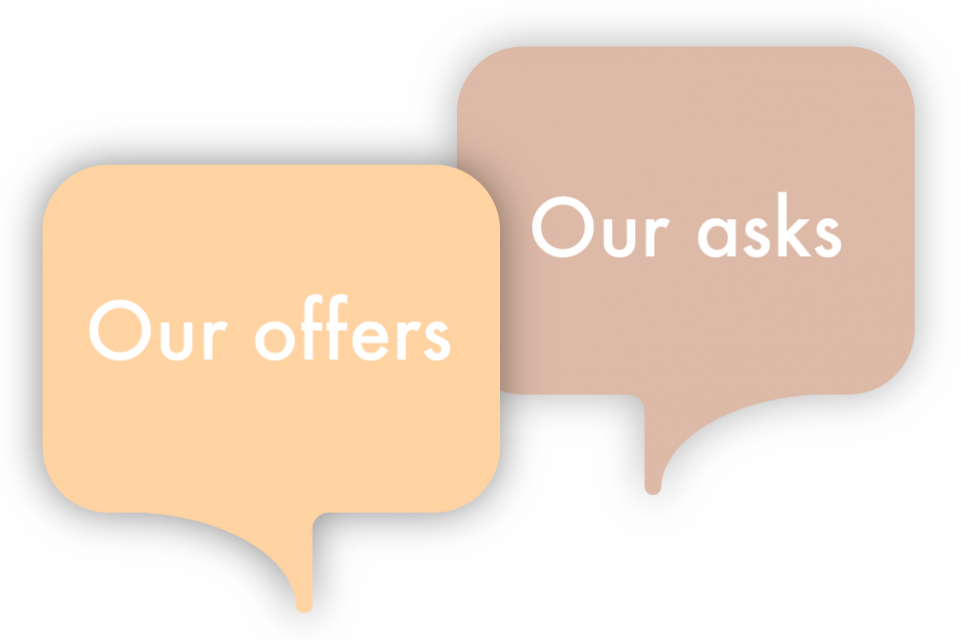 Re-thinking local: our offers and asks